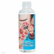 Пилинг-тоник с фруктовыми кислотами Elizavecca Hell-Pore Clean Up Aha Fruit Toner