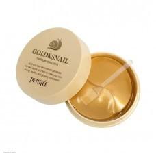 Гидрогелевые патчи для глаз Petitfee Gold & Snail Hydrogel Eye Patch