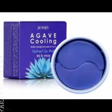Охлаждающие гидрогелевые патчи для глаз Petitfee Agave Cooling Hydrogel Eye Mask