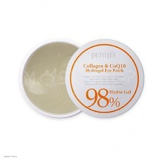 Гидрогелевые патчи для глаз Petitfee 98% Collagen & CoQ10 Hydro Gel Eye Patch