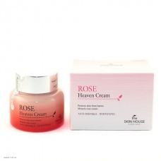 Антивозрастной крем для лица с экстрактом розы The Skin House Rose Heaven Cream 50мл