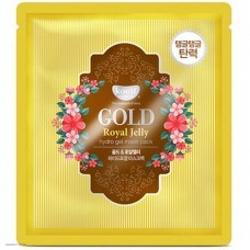 Гидрогелевая маска с золотом и маточным молочком KOELF Gold & Royal Jelly Hydro Gel Mask Pack 1шт