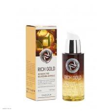 Питательная сыовротка с золотом Enough Rich Gold Intensive Pro Nourishing Ampoule 30 мл.