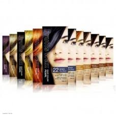 Краска для волос с экстрактами фруктов Welcos Fruits Wax Pearl Hair Color 60мл