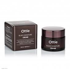 Омолаживающий крем с муцином черной улитки Ottie Black Signature Cream 50ml