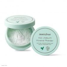 Минеральная рассыпчатая матирующая пудра INNISFREE No Sebum Mineral Powder 5g