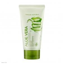 Очищающий гель-крем с алоэ вера NATURE REPUBLIC Aloe Vera Cleansing Gel Cream 150мл