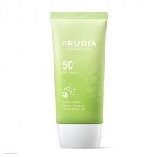 Солнцезащитный гель с зеленым виноградом Frudia Green Grape Sebum Control Cooling Sun Gel Spf50+/pa ++++ 50гр