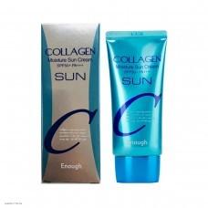 Увлажняющий солнцезащитный крем с коллагеном ENOUGH Collagen Moisture Sun Cream SPF50+ PA+++ 50гр