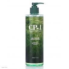 Натуральный шампунь с протеинами и зеленым чаем ESTHETIC HOUSE CP-1 Daily Moisture Natural Shampoo 500мл