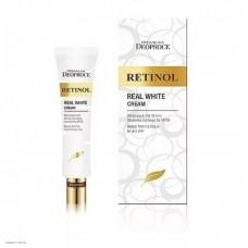 Крем с ретинолом для век и носогубных складок DEOPROCE Premium Retinol Real White Cream 40мл