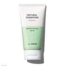 Пенка-скраб для лица The Saem Natural Condition Scrub Foam Deep Pore Cleansing 150ml