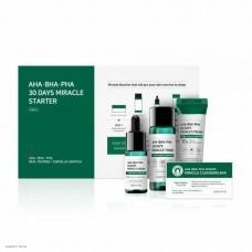 Набор мини средств для ухода за проблемной кожей   Some By Mi AHA-BHA-PHA 30 Days Miracle Starter Edition