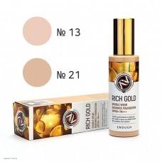 Тональная основа с золотом для сияния кожи ENOUGH Rich Gold Double Wear Radiance Foundation SPF50+ PA+++ 100ml