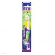 Зубная щетка детская LION KODOMO Professional (3года-6лет) 1шт
