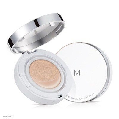 Тональный крем-кушон для стойкого макияжа MISSHA Magic Cushion Cover Lasting SPF50+ PA+++ 15гр
