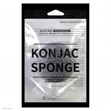 100% натуральный спонж SILSTAR Konjac Sponge 1шт