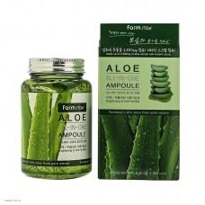 Многофункциональная сыворотка с экстрактом алоэ FARMSTAY Aloe All-In-One Ampoule 250мл