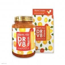 Многофункциональная витаминная сыворотка FARMSTAY DR.V8 Vitamin Ampoule 250мл
