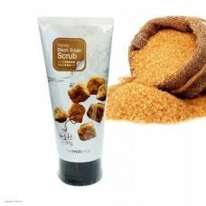 Скраб-пилинг с экстрактом черного сахара THE FACE SHOP Smart Peeling Honey Black Sugar Scrub 120мл