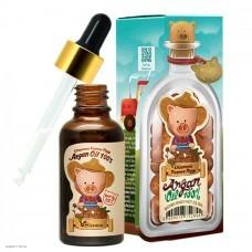 Масло арганы 100% для лица, тела, волос ELIZAVECCA Farmer Piggy Argan Oil 100% 30мл